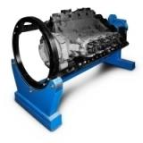 Р770Е Стенд универсальный для ремонта ДВС, КПП, мостов и др. агрегатов весом до 3000 кг. Привод - электромеханический.